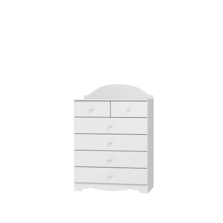 Komoda CLASIC 6 szuflad