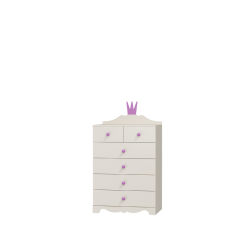 Komoda z sześcioma szufladami PRINCESSA