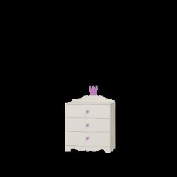 Komoda PRINCESSA 3 szuflady