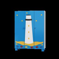 Szafa OCEANIC 3 drzwiowa