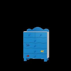 Komoda OCEANIC 6 szuflad