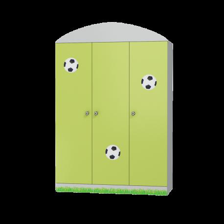 Szafa FOOTBALL 3 drzwiowa