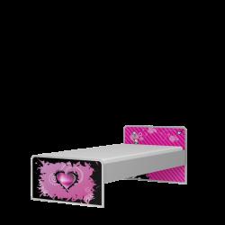Łóżko EMO pod materac 200x120cm