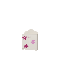 Szafka FLOWER Baby 2 drzwiowa