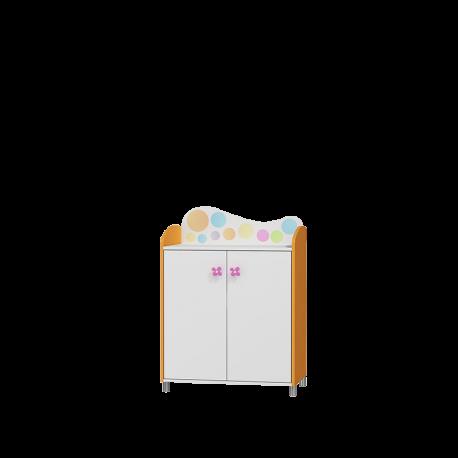Szafka RAINBOW Baby 2 drzwiowa