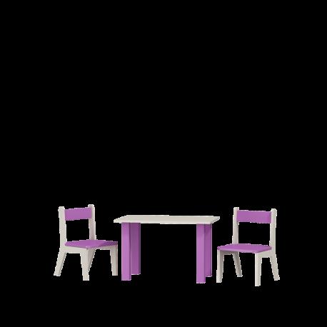 Stolik i dwa krzesełka komplet