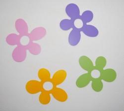 Kwiatki drewniane