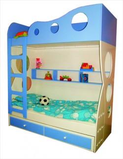 Łóżko piętrowe dla dzieci FALA