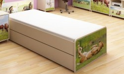 Szuflada pod łóżko Karino wzmacniana