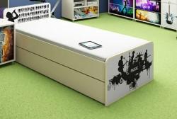 Szuflada pod łóżko Music wzmacniana