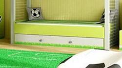 Szuflada pod łóżko Football wzmacniana