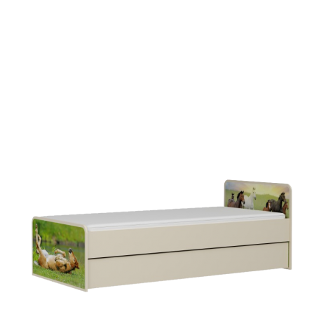 Łóżko KARINO pod materac 200x90cm