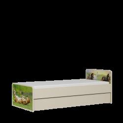 Łóżko KARINO pod materac 200x120cm