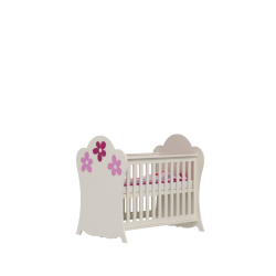 Łóżeczko FLOWER Baby