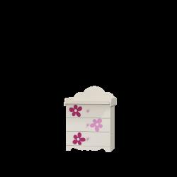 Komoda FLOWER Baby