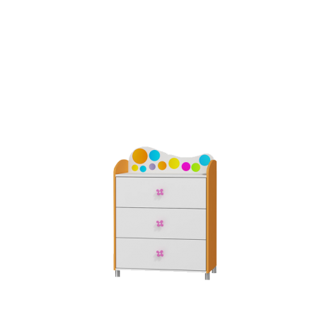 Komoda RAINBOW Baby