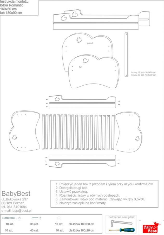 Instrukcje Montażu Babybest